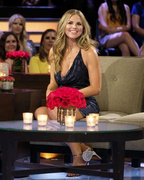 Hannah Brown on The Bachelorette The Men Tell All Episode ...