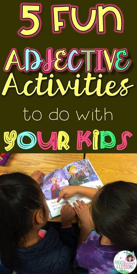 adjectives  fun activities     students