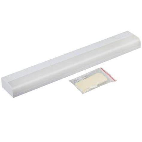 home depot under cabinet lighting 10 in white battery operated led under cabinet light