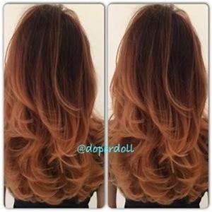 Ombré Hair Cuivré : balayage cuivr ~ Melissatoandfro.com Idées de Décoration