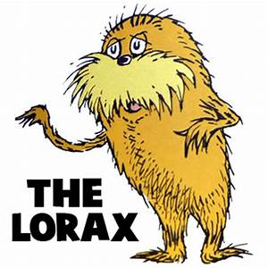 How to Draw The Lorax by Dr. Seuss with Step by Step ...