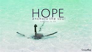 Hope Anchors The Soul - WallDevil