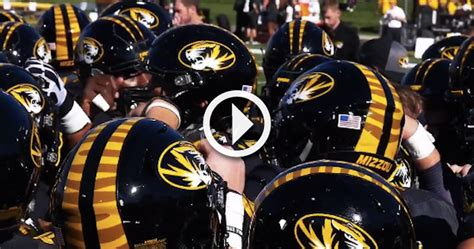 mizzou releases hype video   week  matchup