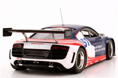 1 43 audi r8 lms grand am test car 2011 audi of america customer racing dealer ebay