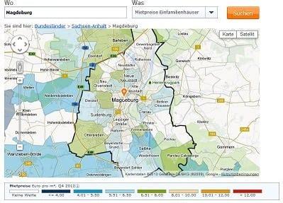 Wohnung Mieten Magdeburg Birnengarten 2016 by Mietspiegel Magdeburg 2016 Was Mieten In Magdeburg Kostet