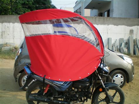 motorcycle rain roof for two