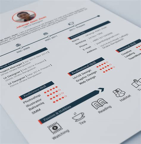 20 free editable cv resume templates for ps ai