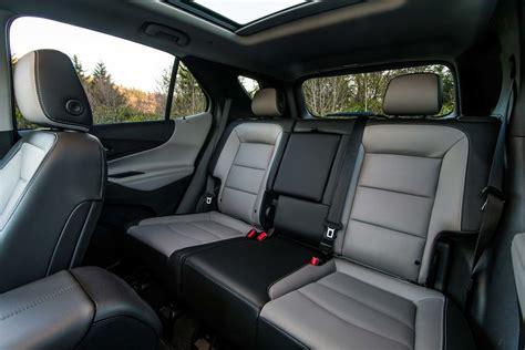 chevrolet equinox rear interior seats  motor trend