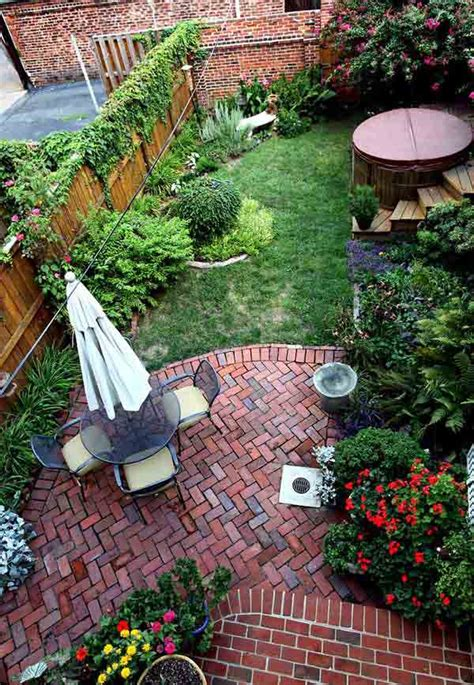 Landscaped Backyards Pictures by 23 Small Backyard Ideas How To Make Them Look Spacious And