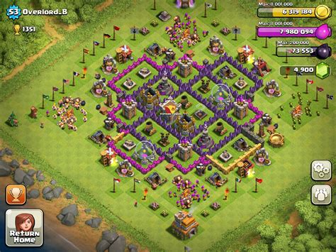 clash of clans base design 1 000 subscribers milestone top 10 clash of clans base