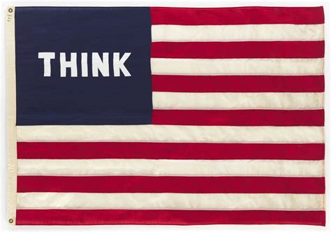 William N Copley  Think (flag) For Sale Artspace