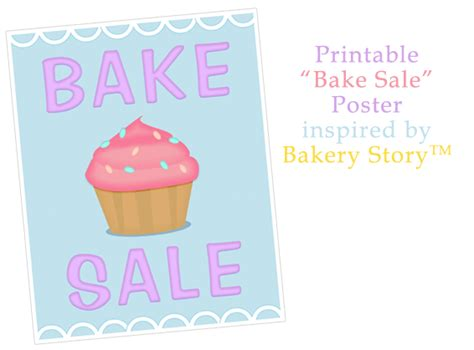 Free Printable Valentines Day Bake Sale Templates