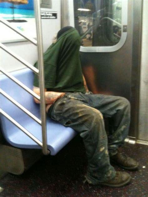 weird    public transportation funcage