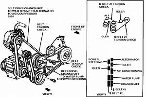 Routing Diagram For Alternator Serpentine Belt On 1993 Aero Star 3 0