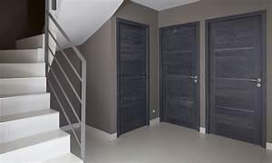 peinture porte interieure gris anthracite palzoncom With porte interieur gris anthracite