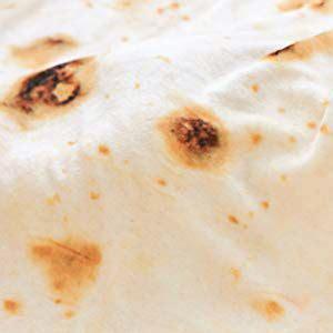 Amazon.com: CASOFU Burritos Tortilla Blanket, Food Flour