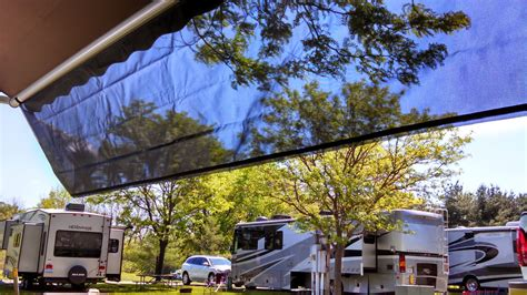 rv awning sunscreen the carefree of colorado ez zipblocker is the rv