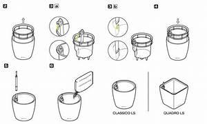 Lechuza Bewässerungssystem Anleitung : lechuza quadro ls all inclusive set taupe kunststoff pflanzengefa 123zimmerpflanzen ~ Eleganceandgraceweddings.com Haus und Dekorationen