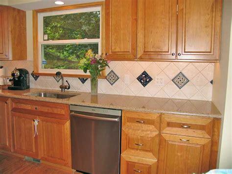 tile accents for kitchen backsplash backsplash with accent tiles tile design ideas 8467