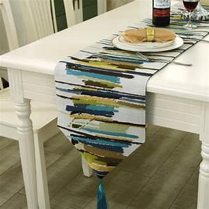 Chemin De Table Moderne : achetez en gros moderne chemin de table en ligne des grossistes moderne chemin de table ~ Teatrodelosmanantiales.com Idées de Décoration