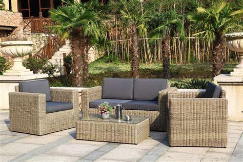 canape de jardin resine superbe ensemble canapé mobilier de jardin luxe osier 1508
