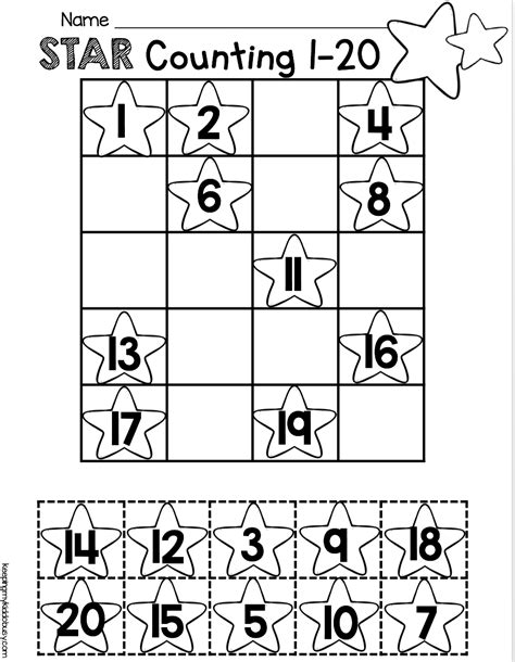 Cc Worksheets Counting Cardinality Kindergarten Cc Best Free Printable Worksheets