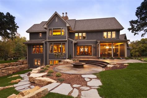 Contemporary Rustic Country Home Modern Rustic Homes
