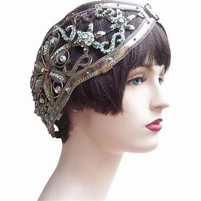 Headdress Hairstyles Tiara Rhinestone Crown Edwardian Comb