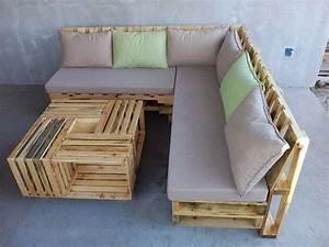 wooden pallet l shape sofa set easy pallet ideas