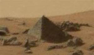 UFO seekers find 'PYRAMID' in NASA Mars video sparking ...