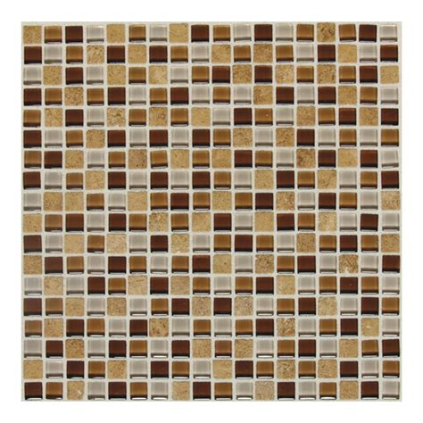 american olean glass tile backsplash shop american olean delfino glass terra blend