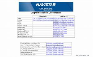 International Truck Trouble Codes