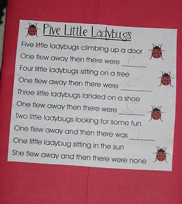 ladybugs lapbook