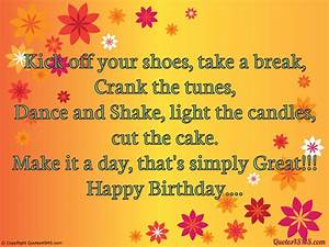 Kick off your shoes, take a break, Crank the tunes - Happy ...