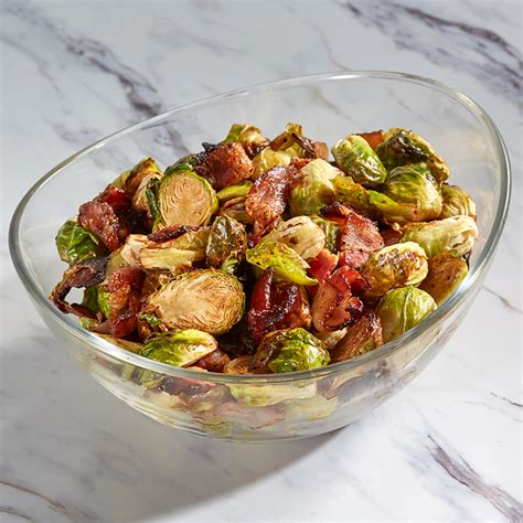 fryer air glazed bacon sprouts brussels hamiltonbeach