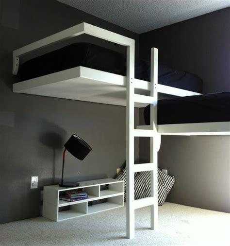 deco chambre mezzanine lit mezzanine la solution pour les petits espaces