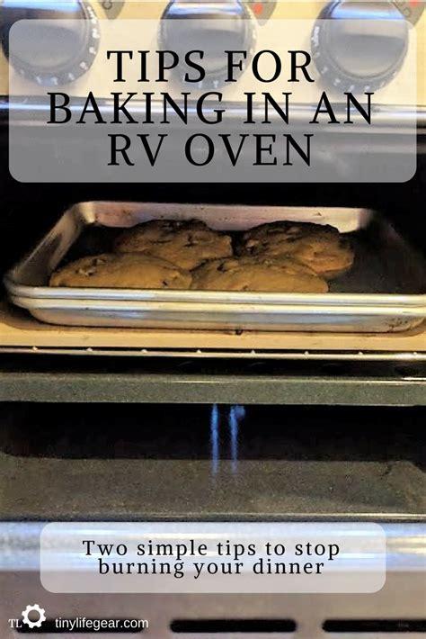 rv oven tips baking