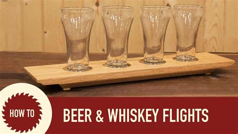 woodworking     beer flight  whiskey flight