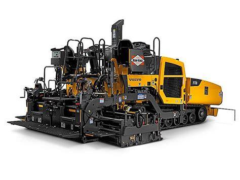 p blaw  wheeled asphalt paver heavy equipment