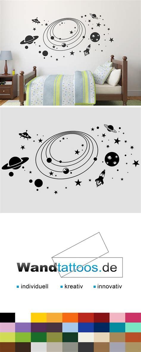 Wandtattoo Kinderzimmer Planeten by Wandtattoo Weltall Mit Sternen Planeten Ikea Ideen
