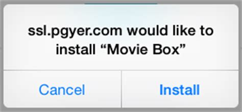 how to install moviebox on iphone install box to all versions of the apple iphone