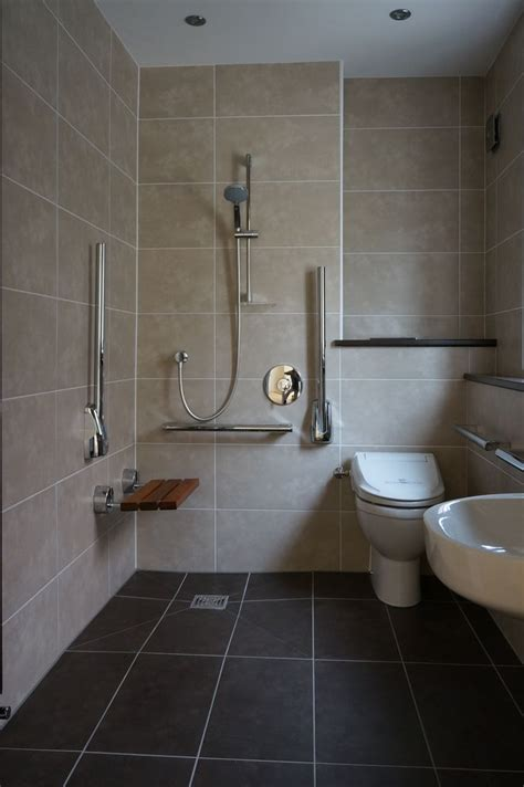 Disabled Bathroom Design by Room Shower With Disabled Access Disable Bathroom