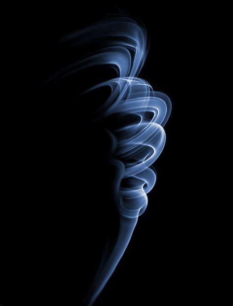 abstractly beautiful smoke plume  selected