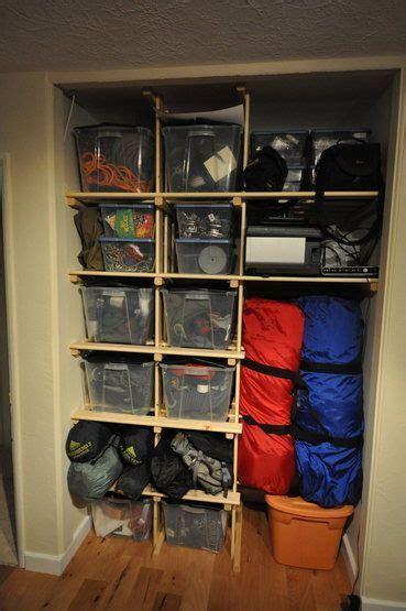 gear storage gear closet  outdoor gear storage