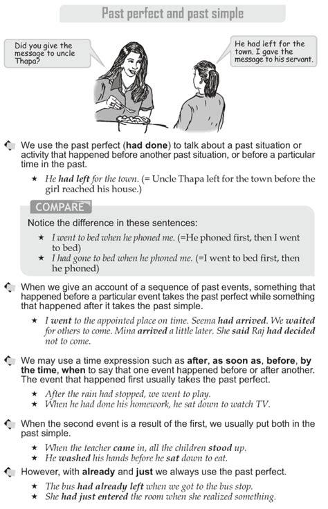 grade  grammar lesson   perfect   simple