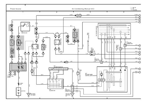2009 Toyotum Camry Ac Wiring Diagram by Repair Guides
