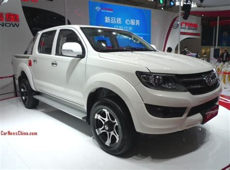 Gonow Ga 1027 Pickup Truck Concept Debuts On The Beijing
