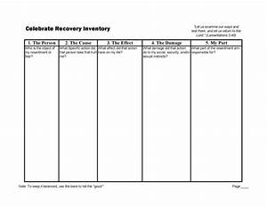 1000 images about 4th step worksheets on pinterest With 4th step template