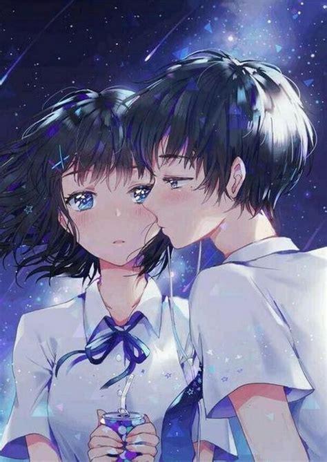foto anime couple keren terpisah gambar anime keren