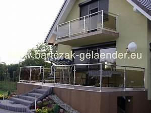 gelander edelstahl edelstahlgelander mit glas gelaender With französischer balkon mit pavillon glas garten